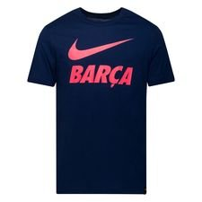 Barcelona T-Shirt Training Ground - Navy