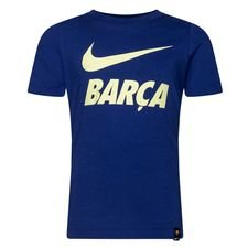 Barcelona T-Shirt Training Ground - Navy/Neon Barn