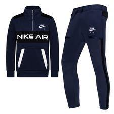 Nike Trainingspak NSW Air - Navy/Zwart/Wit Kinderen