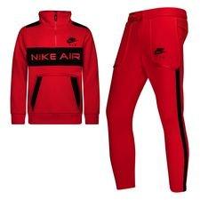 Nike Trainingspak NSW Air - Rood/Zwart Kinderen