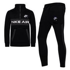 Nike Trainingspak NSW Air - Zwart/Grijs/Wit Kinderen