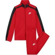 Nike Trainingspak NSW Poly - Rood/Zwart/Wit Kinderen