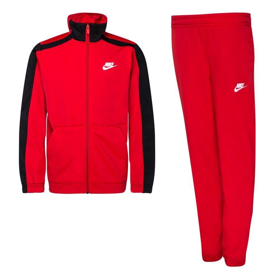 Nike Træningsdragt NSW Poly - Rød/Sort/Hvid Børn thumbnail