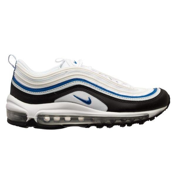 Nike Chaussures Air Max 97 - Blanc/Bleu/Noir/Gris Enfant