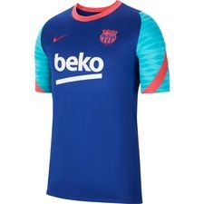 Barcelona Tränings T-Shirt Breathe Strike - Navy/Röd