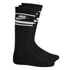 Nike Socken NSW Crew Essential 3er-Pack - Schwarz/Weiß