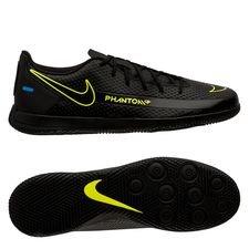 Nike Phantom GT Club IC - Sort/Gul/Blå