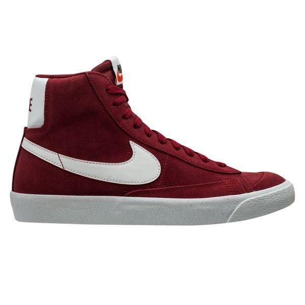 Nike Sneaker Blazer Mid '77 Suede - Team Red/White/Black Kids