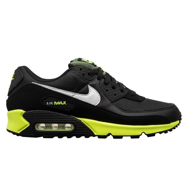 Nike Chaussures Air Max 90 - Noir/Blanc/Jaune