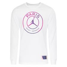 Paris Saint-Germain T-Shirt Jordan x PSG - Vit/Lila Långärmad