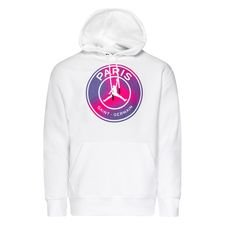 Paris Saint-Germain Fleece Luvtröja Jordan x PSG - Vit/Lila