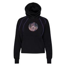 Paris Saint-Germain Fleece Luvtröja Jordan x PSG - Svart/Lila Dam