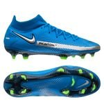 Nike Phantom GT Elite DF FG Spectrum - Bleu/Argenté/Vert