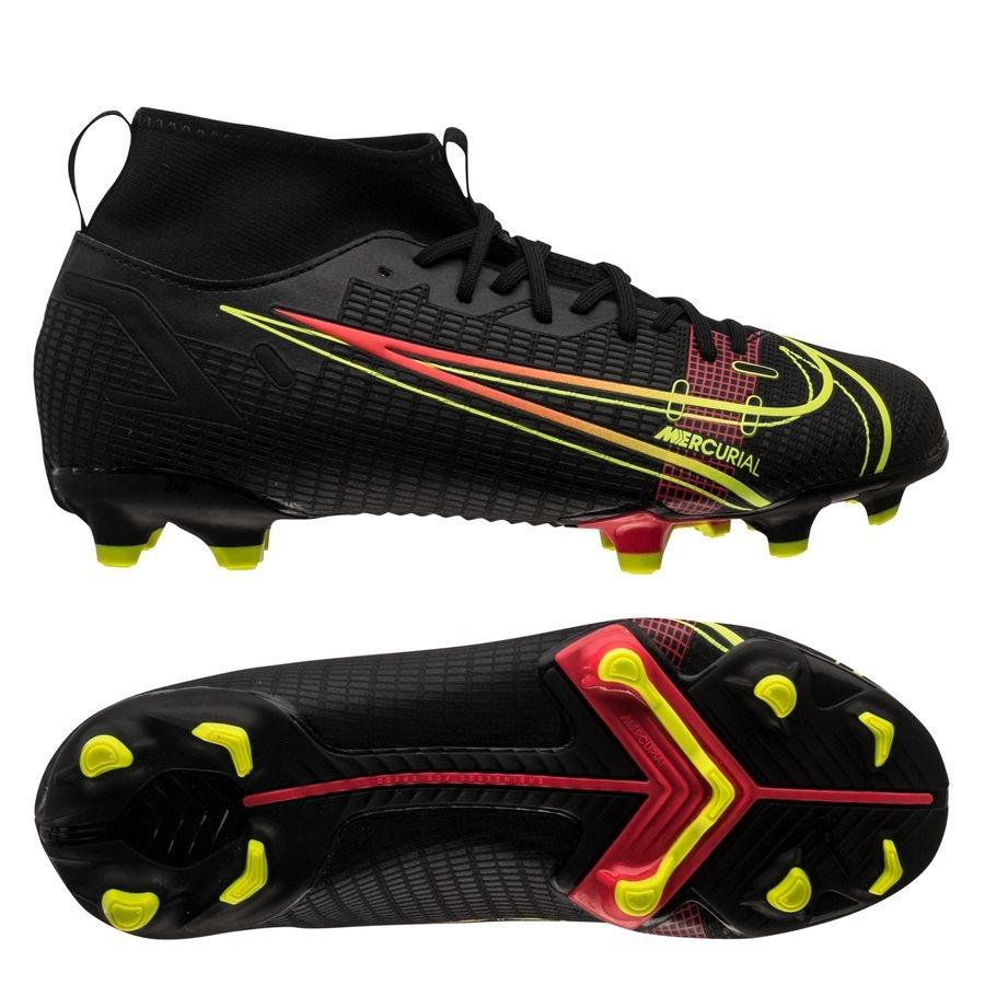 Nike Mercurial Superfly 8 Academy MG Black x Prism - Zwart/Geel/Rood Kinderen <br/>EUR 41.95 <br/> <a href=