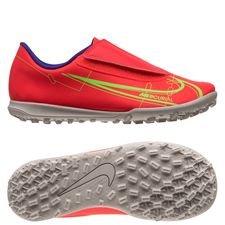 Nike Mercurial Vapor 14 Club TF Spectrum - Rød/Sølv Børn