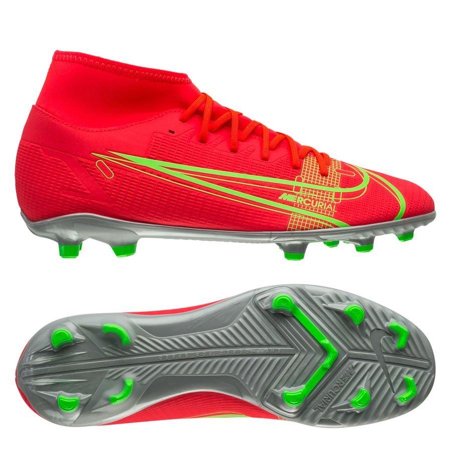 Nike Mercurial Superfly 8 Club MG Spectrum - Rood/Zilver <br/>EUR 48.95 <br/> <a href=