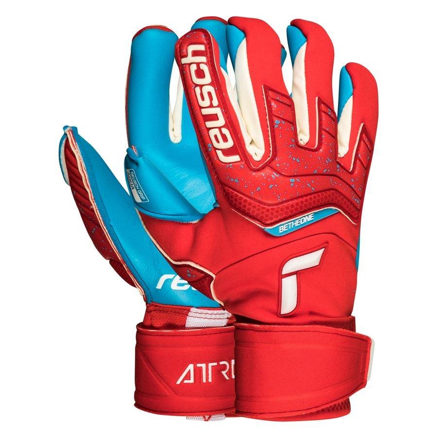Reusch Keepershandschoenen Aqua Windproof Attrakt - Rood/Blauw
