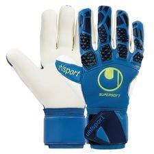 Uhlsport Keepershandschoenen Hyper Act Supersoft HN - Blauw/Wit/Fluo Yellow