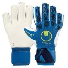Uhlsport Keepershandschoenen Hyper Act Supersoft - Blauw/Wit/Fluo Yellow