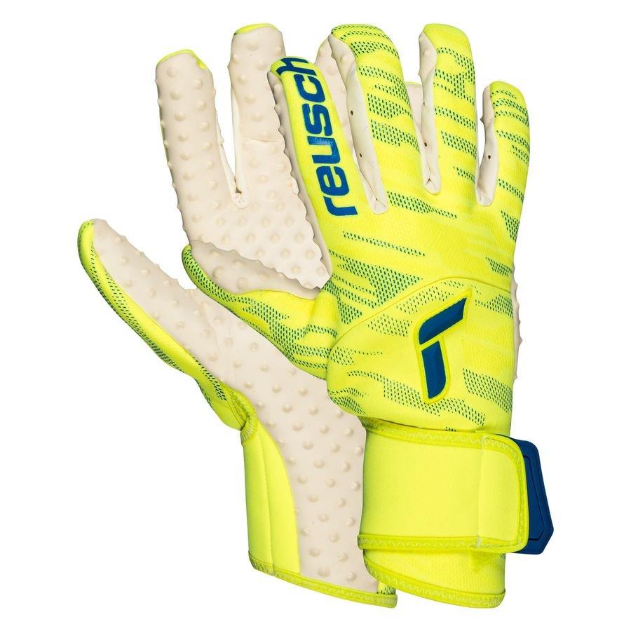 Reusch Keepershandschoenen Pure Contact SpeedBump - Geel/Navy