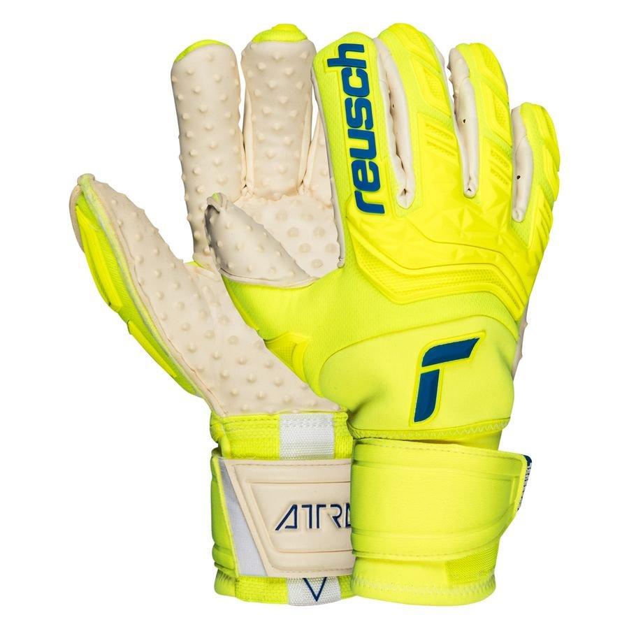Reusch Keepershandschoenen Attrakt Free Ortho-Tec SpeedBump - Geel/Navy