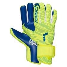 Reusch Keepershandschoenen Pure Contact Silver - Geel/Navy