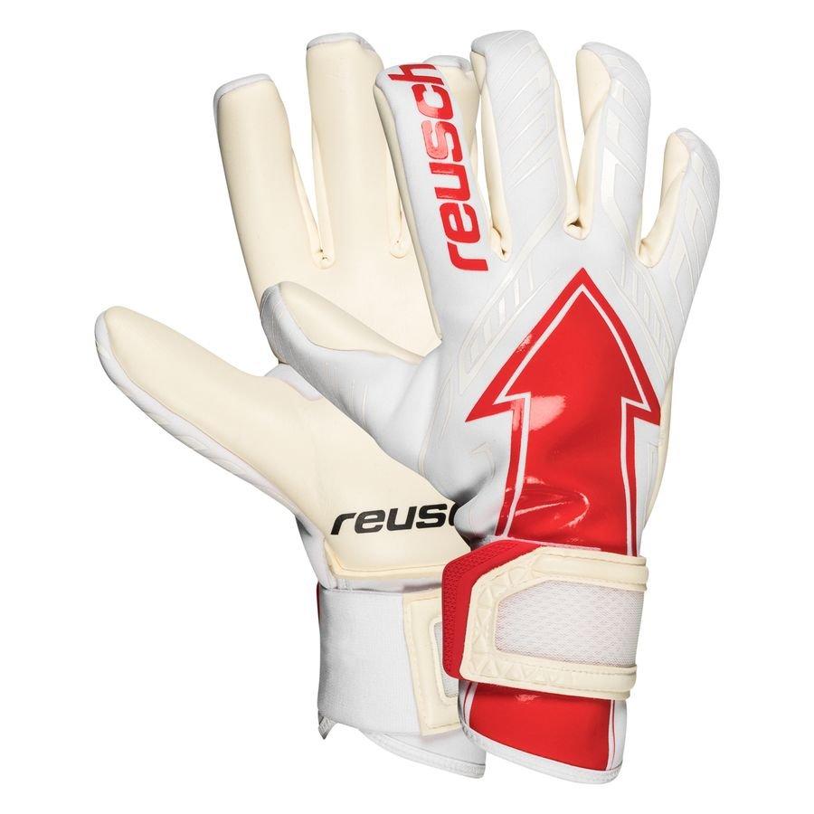 Reusch Keepershandschoenen Arrow Gold X - Wit/Rood