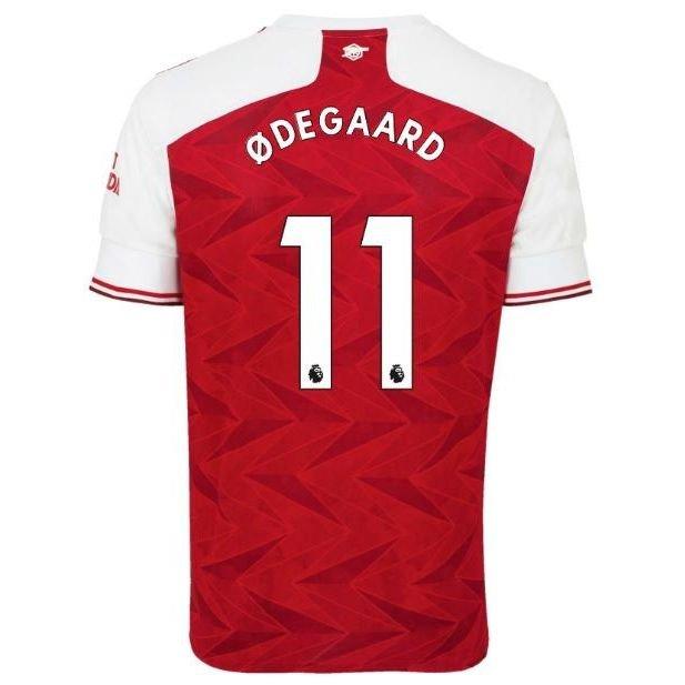 Arsenal Hjemmebanetrøje 2020/21 ØDEGAARD 11