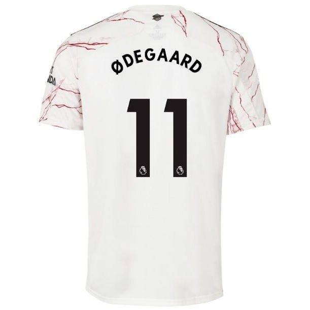 Arsenal Udebanetrøje 2020/21 Børn ØDEGAARD 11