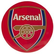 Arsenal Klistermärke - Röd