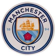 Manchester City Klistermärke - Vit/Blå