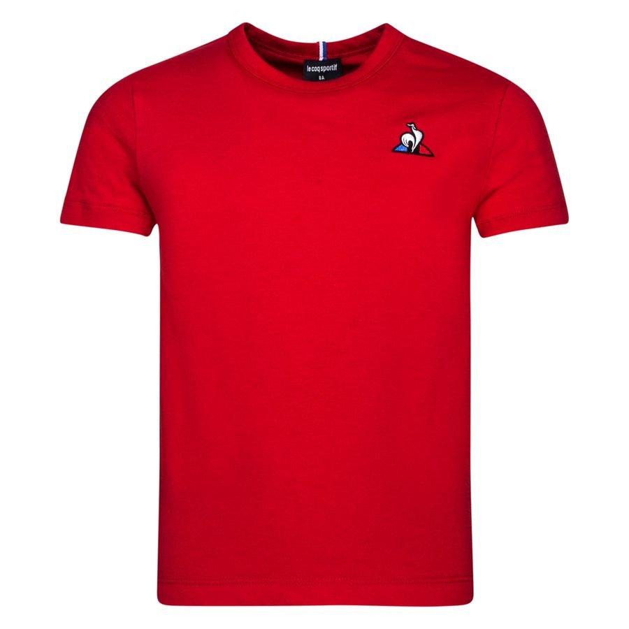 Le Coq Sportif T-Shirt Essential - Rød Børn thumbnail