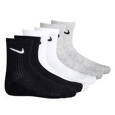 Nike Socken Everyday Cush Crew 3er-Pack - Weiß/Schwarz/Grau