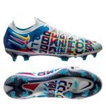 Nike Phantom GT Elite FG 3D - Blau/Pink/Gelb LIMITED EDITION