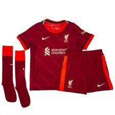 Liverpool FC 2021/22 Home-sæt til mindre børn