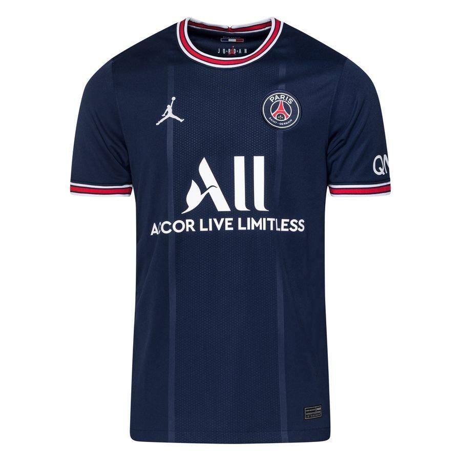 Paris Saint-Germain Hjemmebanetrøje Jordan x PSG 2021/22 Børn