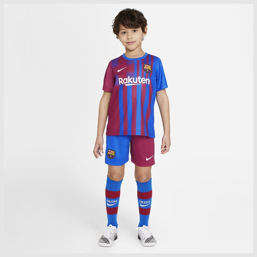 Barcelona Hjemmebanetrøje 2021/22 Mini-Kit Bø