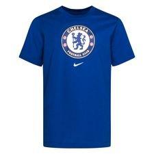 Chelsea T-Shirt Evergreen Crest - Blå Barn