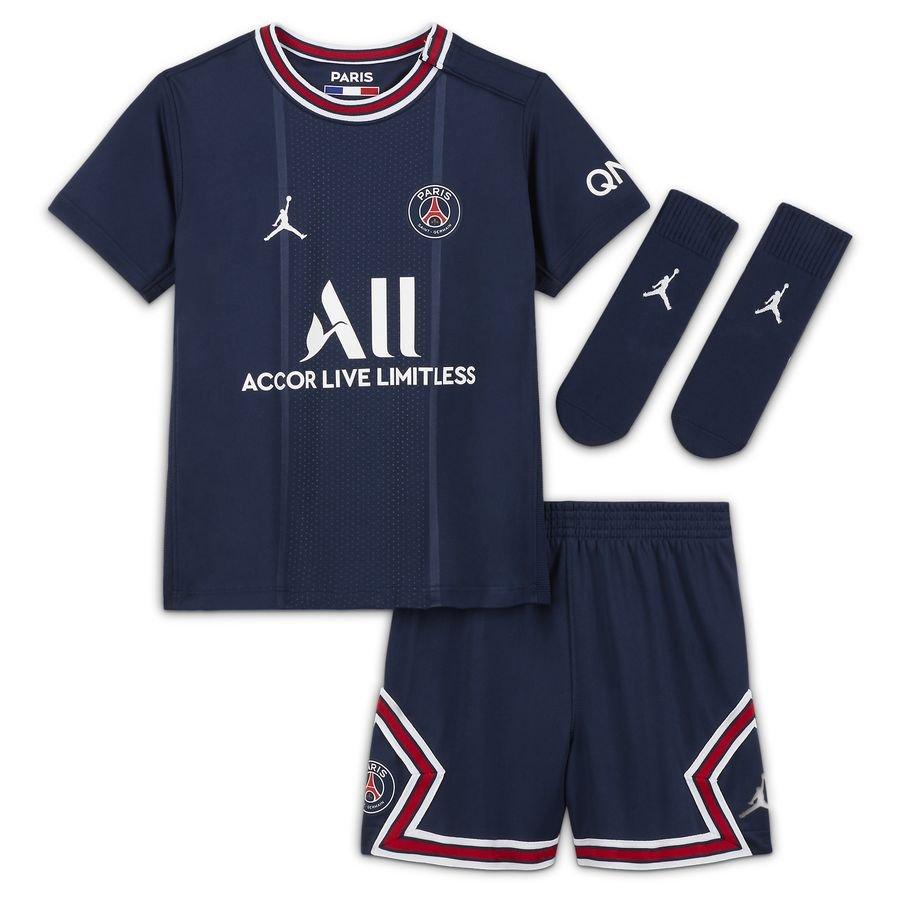 Paris Saint-Germain Hjemmebanetrøje 2021/22 Baby-Kit Børn