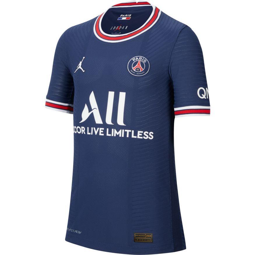Paris Saint-Germain Hjemmebanetrøje Jordan x PSG 2021/22 Vapor Børn