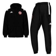Tunesië Trainingspak - Zwart/Wit