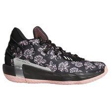 adidas Dame 7 Basketball Shoe - Sort thumbnail