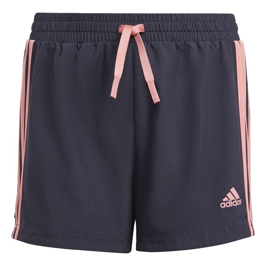 adidas Designed To Move 3-Stripes shorts Blå thumbnail