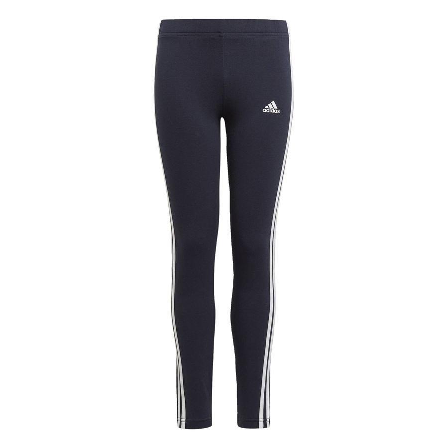 adidas Essentials 3-Stripes leggings Blå thumbnail