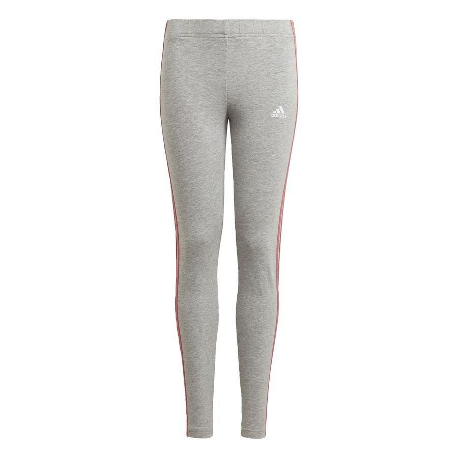 adidas Essentials 3-Stripes leggings Grå thumbnail