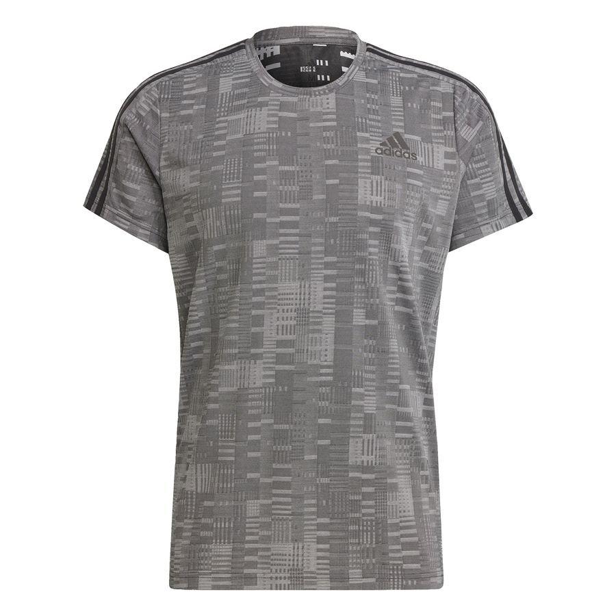 adidas Own The Run Primeblue T-shirt Sort thumbnail