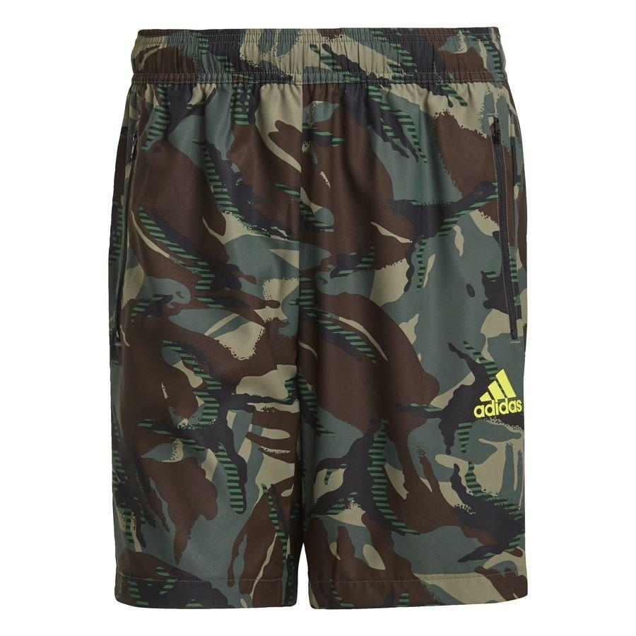adidas Designed To Move Camouflage AEROREADY shorts Grøn thumbnail