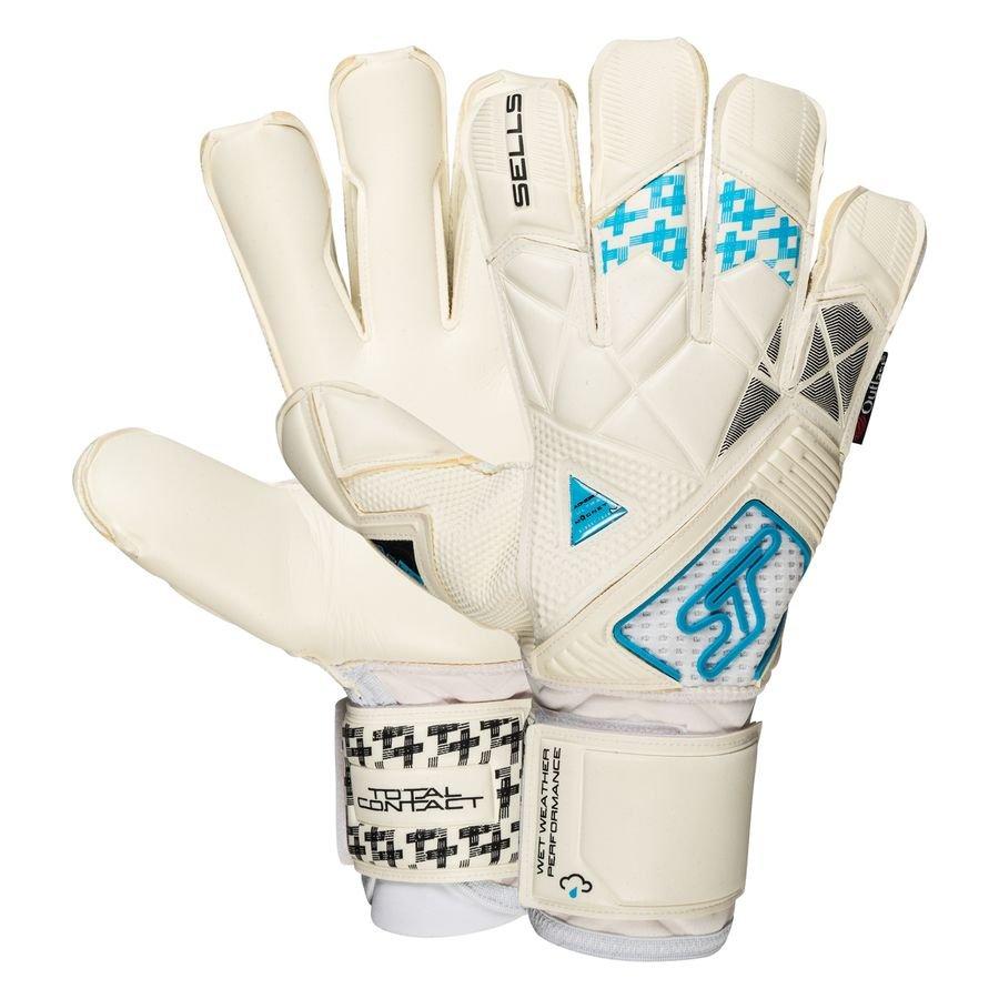 Sells Keepershandschoenen Aqua Ultieme - Wit/Zwart/Blauw