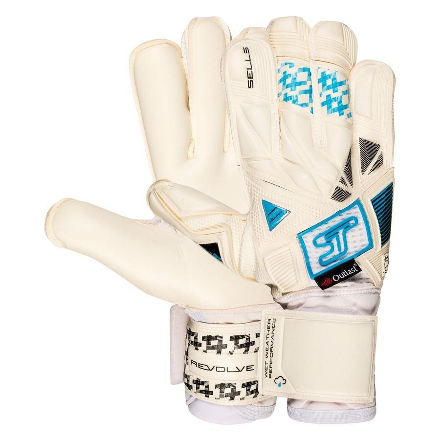 Sells Keepershandschoenen Revolve Aqua Ultieme - Wit/Zwart/Blauw