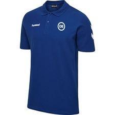 Odense Boldklub Hummel Go Cotton Piké - Blå